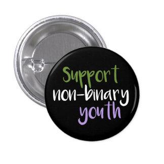 Insigne Non-Binaire de la jeunesse de soutien Pin's