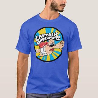 Insigne volant de héros de capitaine Underpants   T-shirt