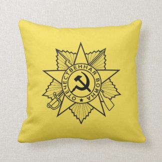 Insignes communistes marteau et coussin de