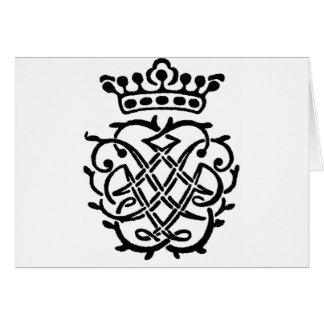 Insignes de Bach Carte De Vœux