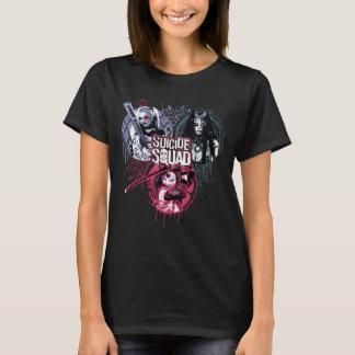 Insignes de graffiti de filles de peloton du t-shirt