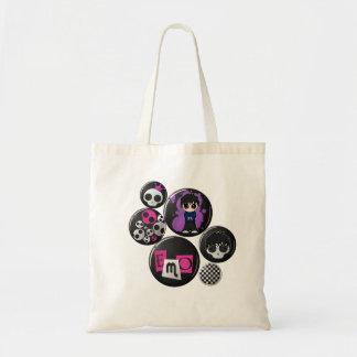 Insignes d'Emo sur le sac
