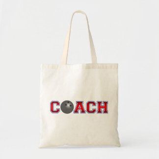 Insignes gentils de bowling d'entraîneur sac