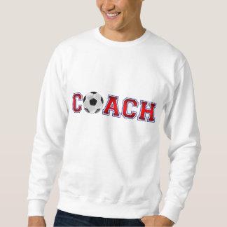 Insignes gentils du football d'entraîneur sweatshirt