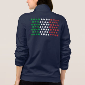 Inspiré par le drapeau italien. Édition d'étoiles