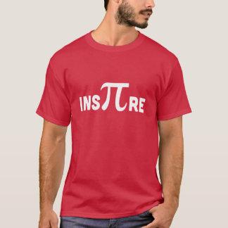 Inspirez le symbole de pi t-shirt