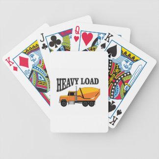 installation de charge lourde jeu de cartes