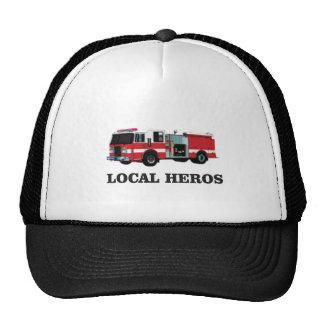 installation locale de héros casquettes de camionneur