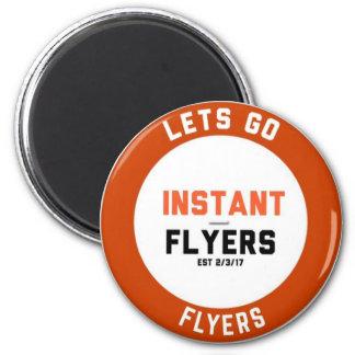 Instant_Flyers Magnet Rond 8 Cm
