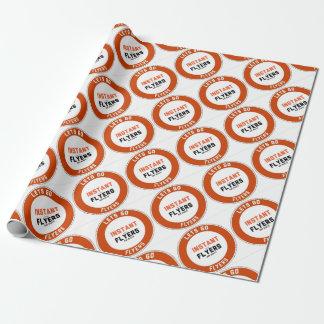 Instant_Flyers Papier Cadeau Noël