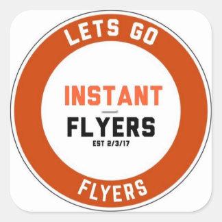 Instant_Flyers Sticker Carré