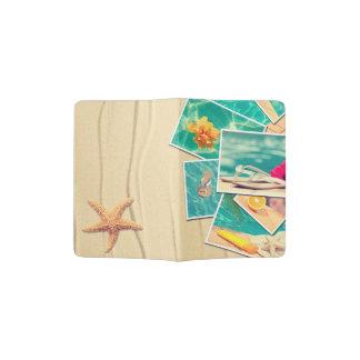 Instantanés de vacances protège-passeport