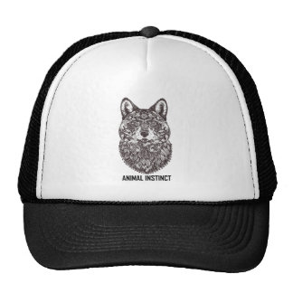 Instinct animal - tee - shirt graphique de T-shirt Casquette