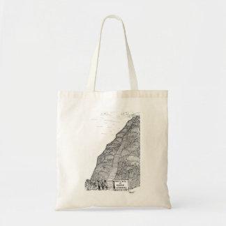 Institut de bookbag d'enseignement supérieur sacs en toile
