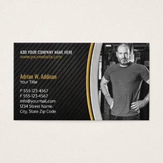 Instructeur personnel de boxe de gymnase cartes de visite