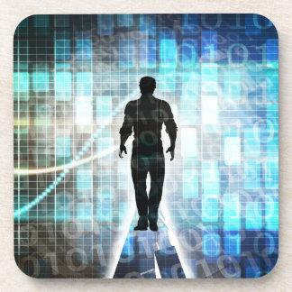 Instruction de Digitals comme concept de Dessous-de-verre