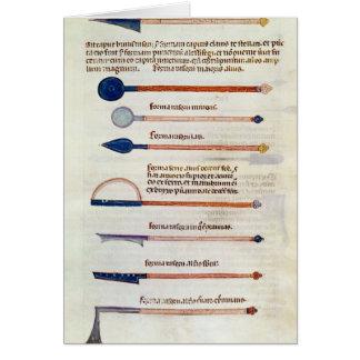 Instruments chirurgicaux d'un traité carte de vœux