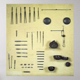 Instruments du cas d un oculiste de Reims Posters