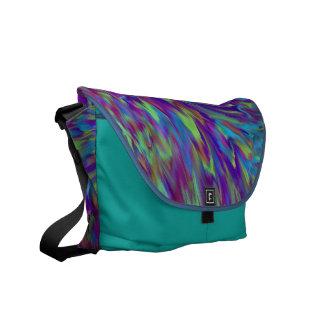 Interférence de couleur - sac messenger fait sur c sacoches