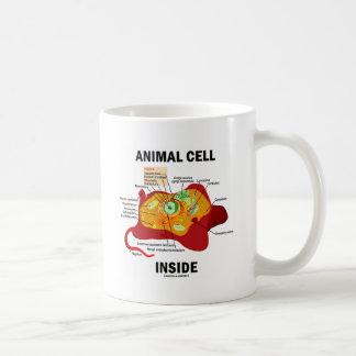 Intérieur animal de cellules (biologie cellulaire mug