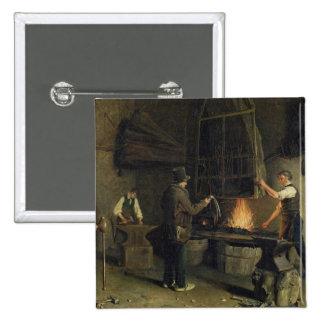 Intérieur de la forge, 1837 badge