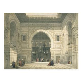 Intérieur de la mosquée du sultan Hasan, le Caire, Cartes Postales