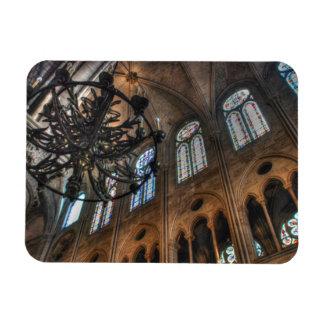 Intérieur de Notre Dame Magnets En Vinyle