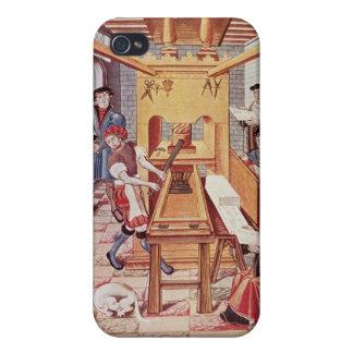 Intérieur des travaux du 16ème siècle d un ing coque iPhone 4/4S