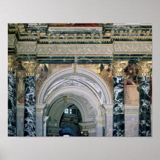 Intérieur du musée de Kunsthistorisches Poster
