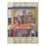 Intérieur du roi du palais de Perse Cartes Postales