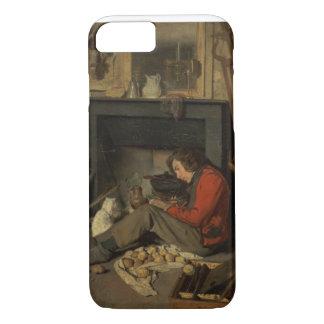 Intérieur d'un studio, 1845 (huile sur la toile) coque iPhone 7