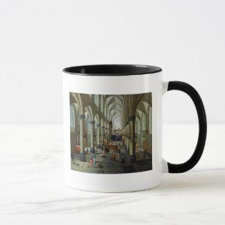 Intérieur d'une église mug