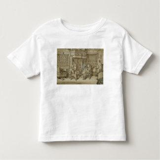 Intérieur néerlandais, 1617 t-shirt pour les tous petits