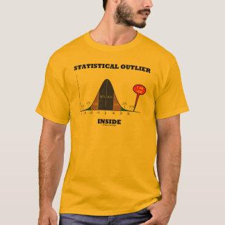 Intérieur statistique d'annexe (humour de courbe t-shirt