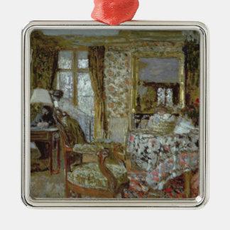 Interior, 1904 ornement carré argenté