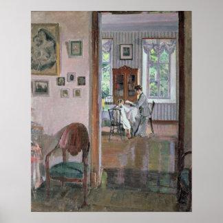 Interior, 1910 poster