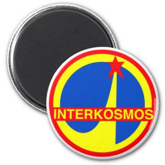 Interkosmos, programme spatial de communiste magnet rond 8 cm
