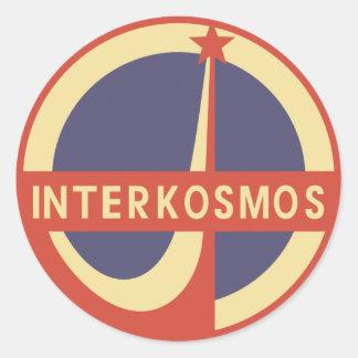 Interkosmos Sticker Rond