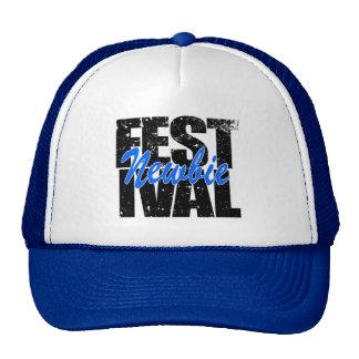 Internaute novice de festival (noir) casquettes