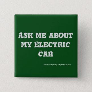 Interrogez-moi au sujet de ma voiture électrique - badge