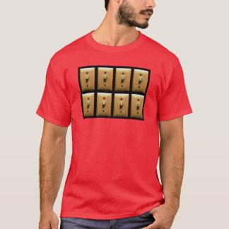 Interrupteurs de lampe t-shirt