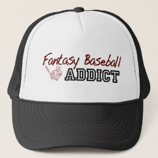 Intoxiqué de base-ball d'imaginaire casquette