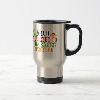 Intoxiqué de dinosaure mugs