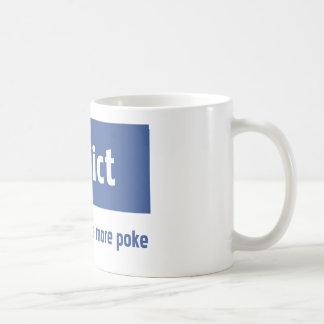 Intoxiqué de Facebook Mug