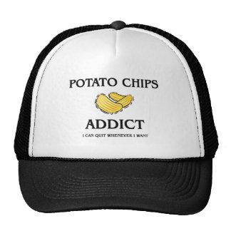Intoxiqué de pommes chips casquette