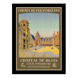 Intrieure de Chateau de Blois Cour Carte Postale