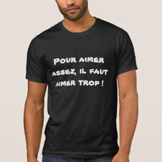 Intrigue amoureuse t-shirt
