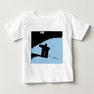 Inukshuk des montagnes côtières t-shirt pour bébé