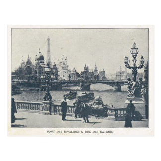 Invalides de DES de l'expo 1900, du Pont de Paris Carte Postale