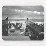 Invasion de la Normandie au le jour J - 1944 Tapis De Souris
